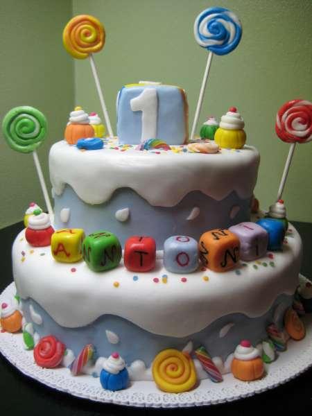 Très La Finestra di Stefania cake design torta di compleanno bambino le  IY93