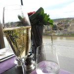 aperitivo con vista e champagne