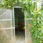 ingresso alla serra giardino, daniel spoerri,