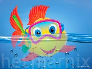 un pesce in maschera di Cristina Galliti