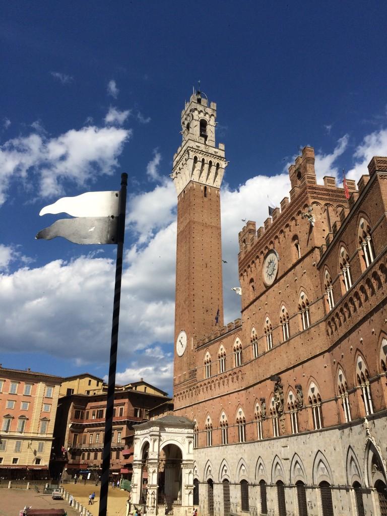 Il trekking urbano a Siena