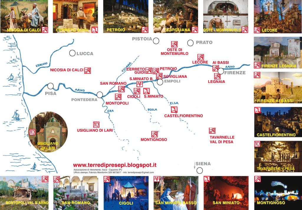 itinerari in Toscana per le vacanze di Natale