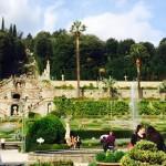 Stefano Mengoli restaura il giardino di Villa Garzoni