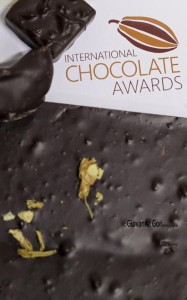 cioccolato come giudicare agli International Chocolate Awards