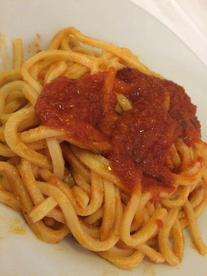 Pici all'amatriciana