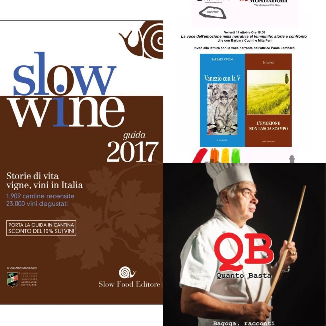 Sow Wine, Bagoaga e iibri degli scrittori senesi