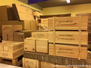 magazzino del vino Pergole Tortee