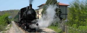 itinerario del treno a vapore di Siena
