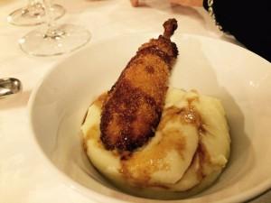 piatti dell'osteria Le Logge a Siena