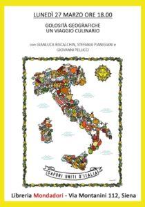 Biscalchin alla libreria Mondadori di Siena