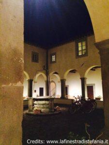 Il chiostro del convento