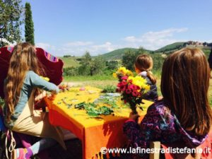 giochi con i fiori per bambini, Games with children's flowers