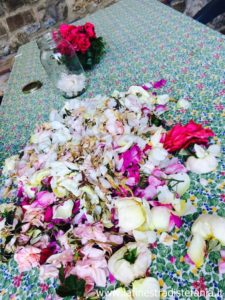 ricette con i petali di rosa, Recipes with rose petals
