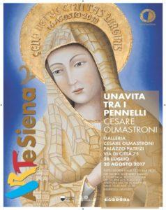la mostra di Cesare Olmastroni a Siena