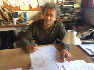 Disegnatore di Tex e Martn Mystère Lucio Filippuccie