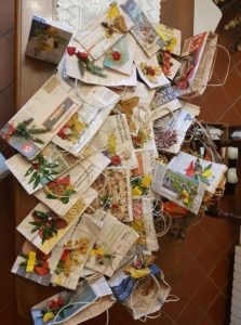 come decorare le borse di carta, how to decorate paper bags