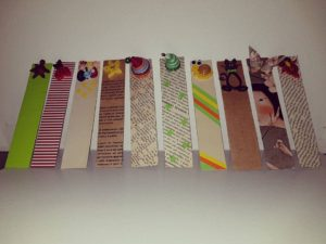 idee originali per segnalibri di carta riciclata, original ideas for recycled paper bookmarks