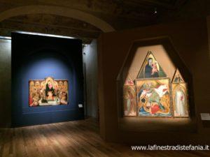 Percorso mostra di Ambrogio Lorenzetti a Siena, Itinerary exhibition of Ambrogio Lorenzetti in Siena