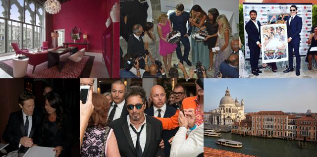 Dove alloggiano gli attori presenti a Venezia durante la mostra del cinema, Where the actors present in Venice stay during the cinema exhibition