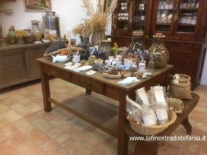 Tuscan products from organic farming