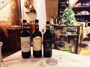 La miglior carta dei vini di Siena